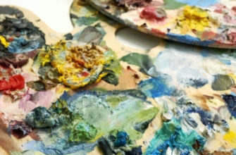 Как отмыть кисти и палитру от масляной краски - фото