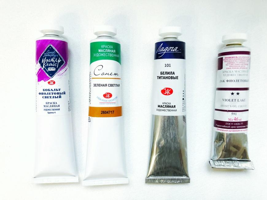 Производители художественных масляных красок - фото