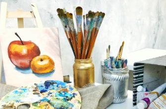 Как выбрать кисти для масляных красок
