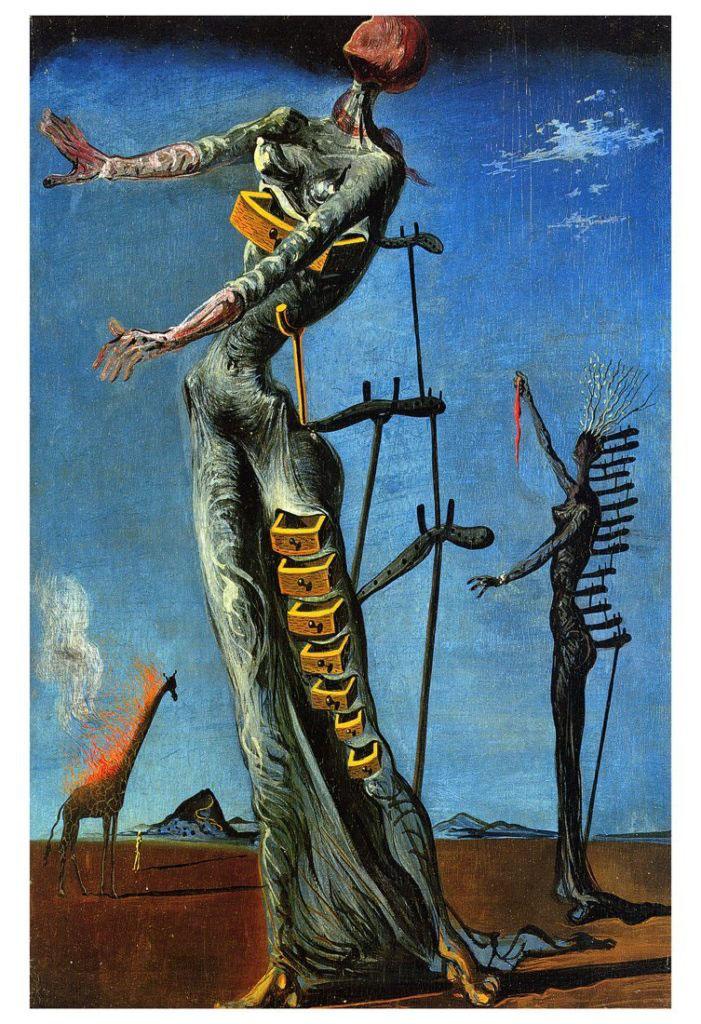 Как найти свой стиль в рисовании - Сюрреализм, Сальвадор Дали - фото