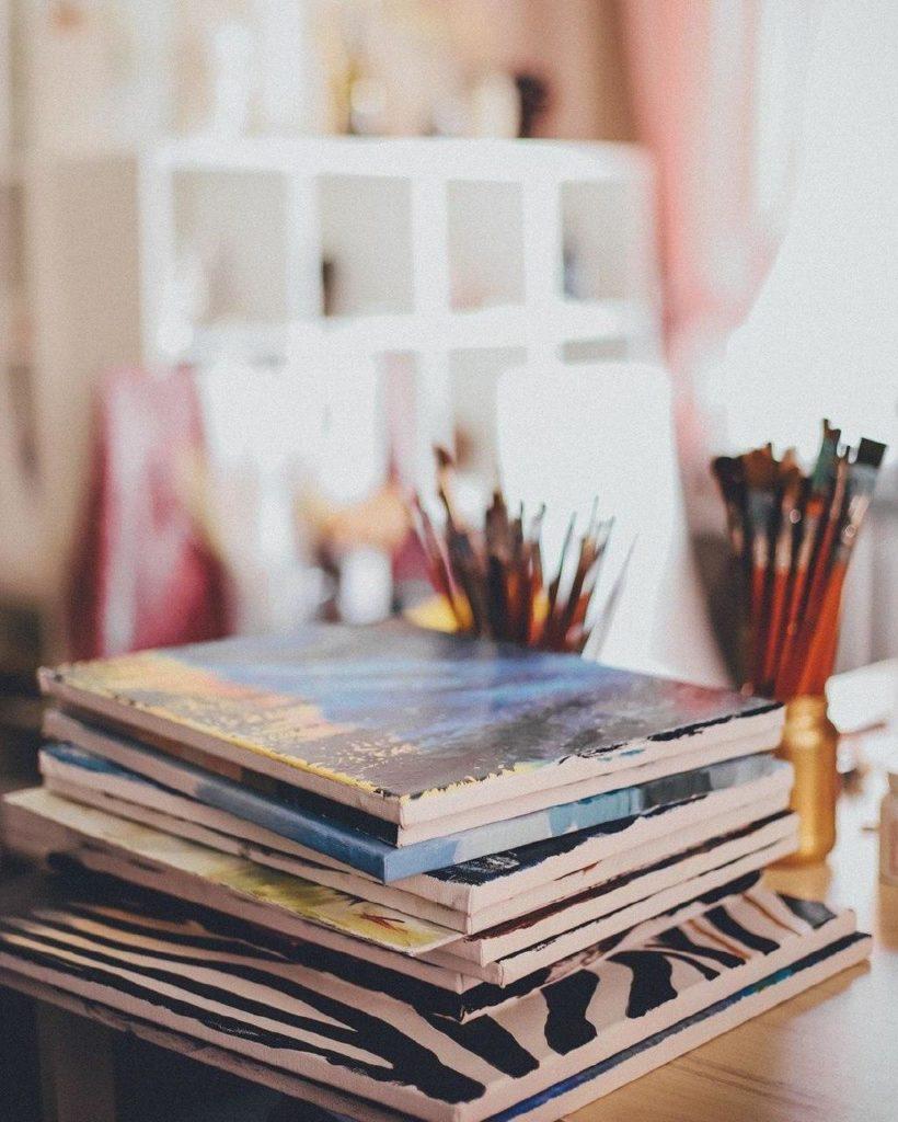 На чем можно рисовать масляными красками - фото