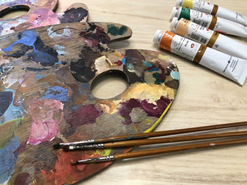 Научиться писать картины маслом - фото