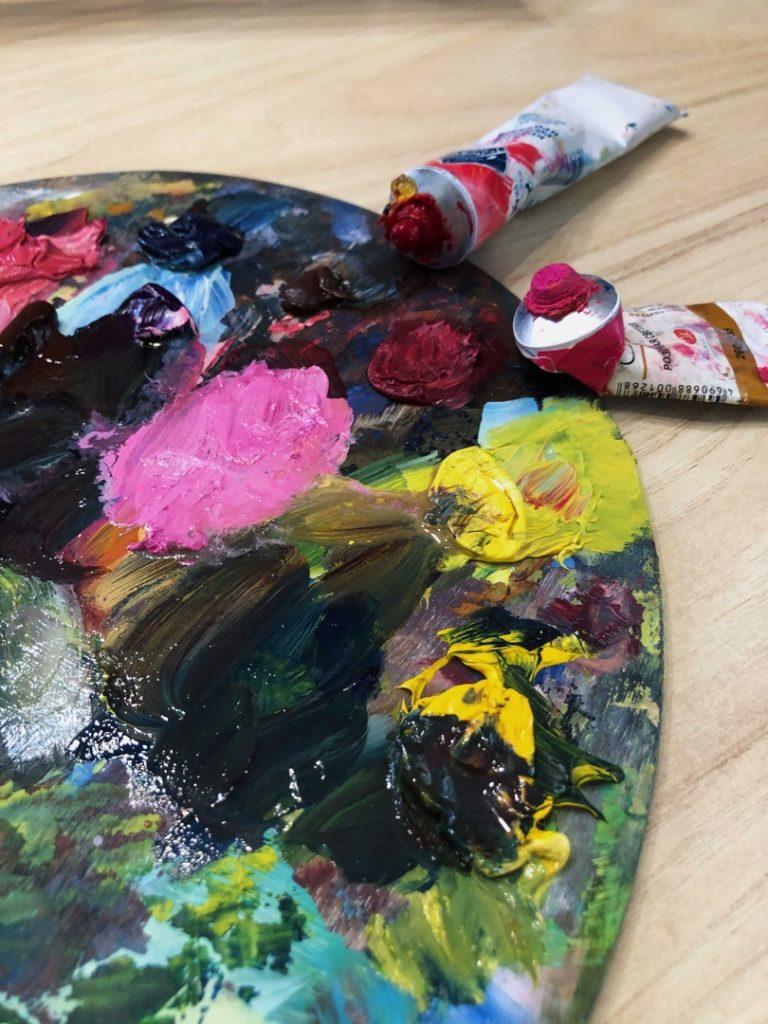 Сколько сохнет масляная краска на холсте - фото