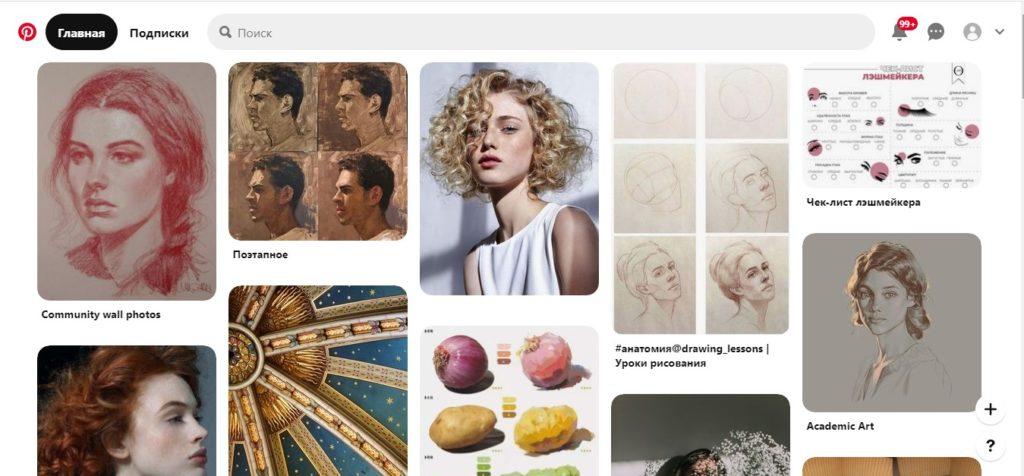 Как продать картину через интернет - pinterest - фото