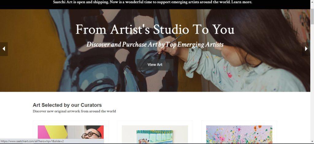 Как продать картину через интернет - Saatchi - фото
