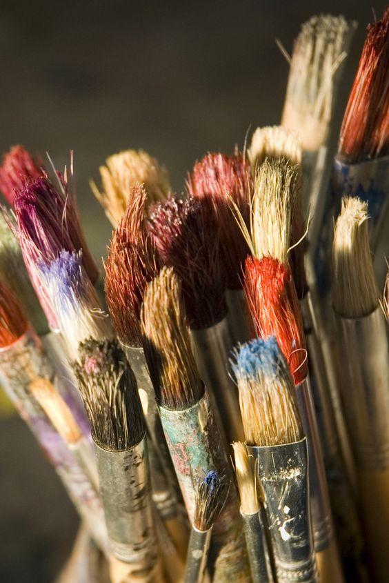 Что делать если акриловые краски засохли - фото