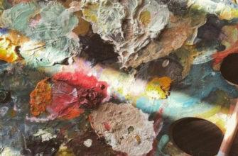 Как очистить холст от масляной краски - фото