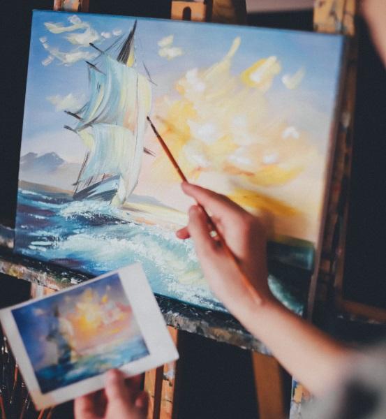 Талант в живописи можно развить