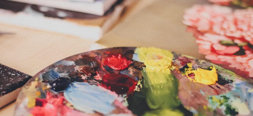Техника живописи темперой - фото