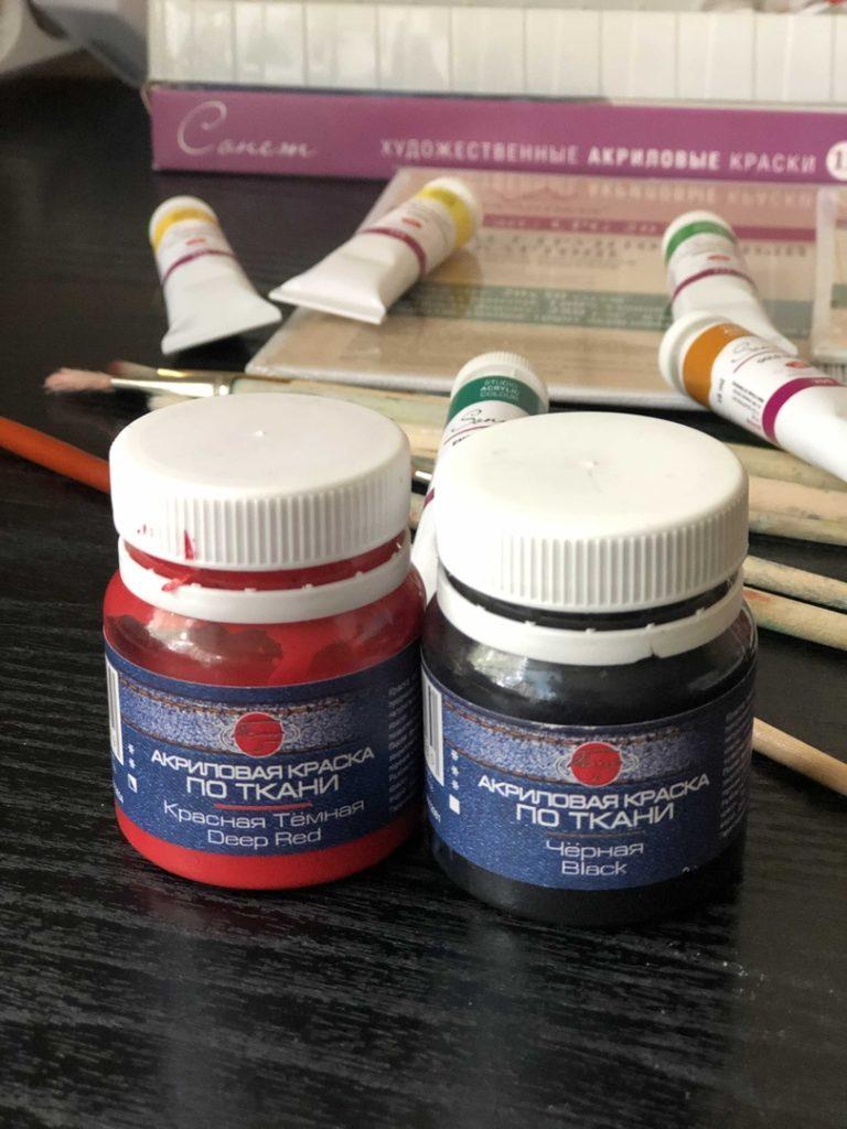Выбрать акриловые краски для рисования - фото