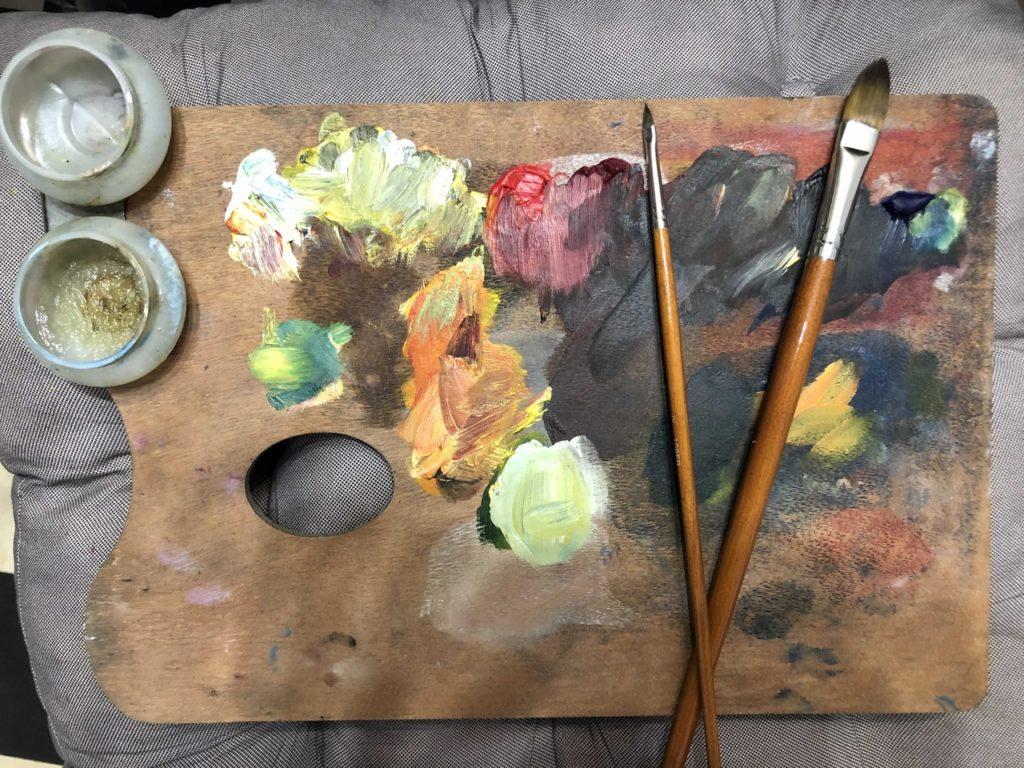 Акрил или масло что лучше для рисования - фото