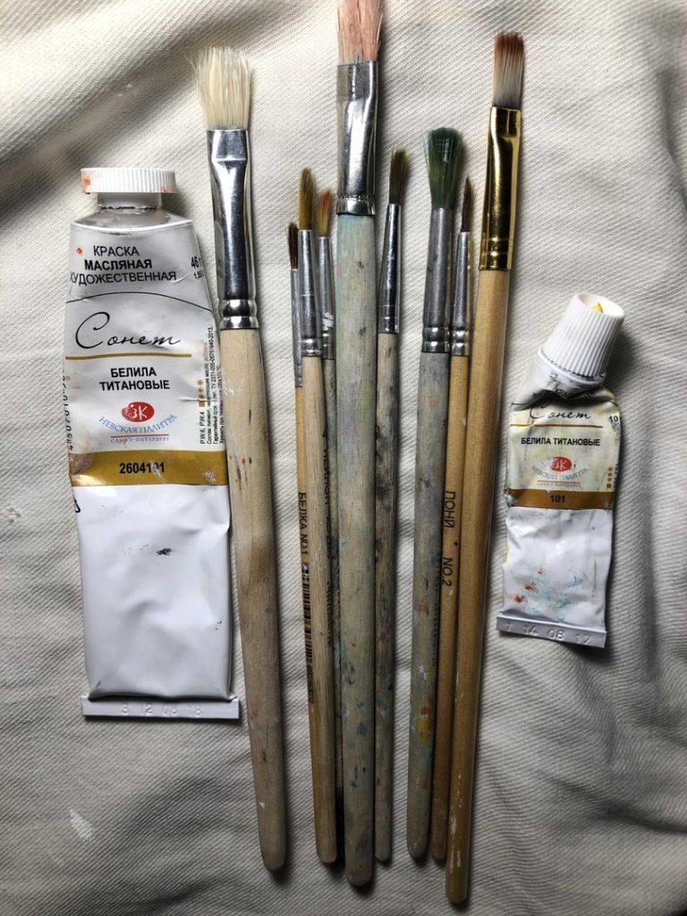 Белила для рисования - фото