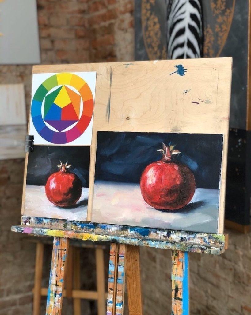 Художественные приемы в живописи - алла-прима - фото