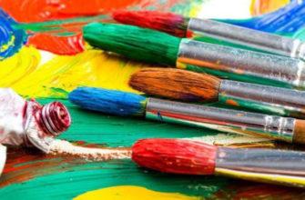 На чем лучше рисовать акриловыми красками - фото