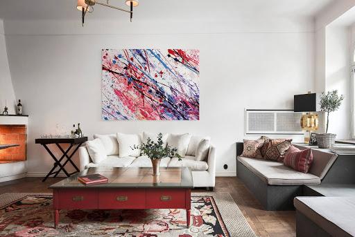 Картины в интерьере квартиры - фото