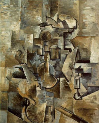 Картины в стиле кубизм - Жорж Брак - фото