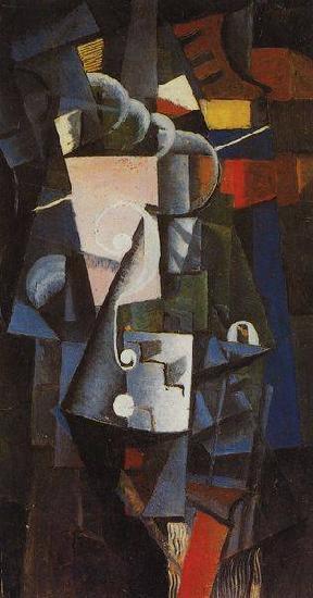 Кубизм в россии 20 век - Каземир Малевич - фото