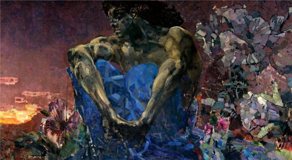 Кубизм в россии 20 век - Михаил Врубель - фото