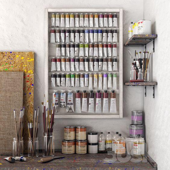 Научиться рисовать акриловыми красками - фото