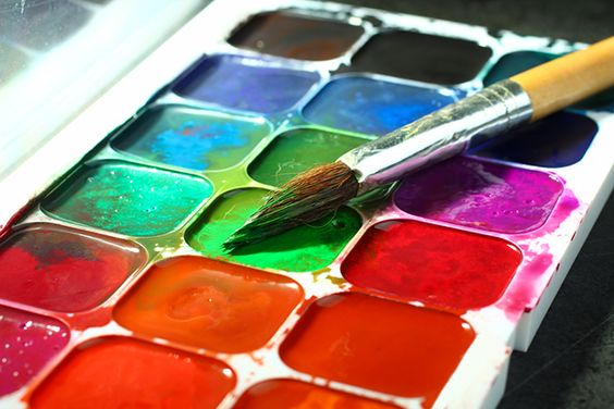 Разновидность красок для рисования - акварель - фото