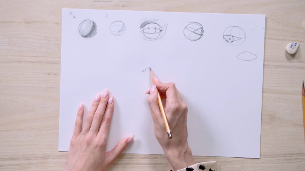 Как нарисовать глаза карандашом поэтапно - этап 4 - фото