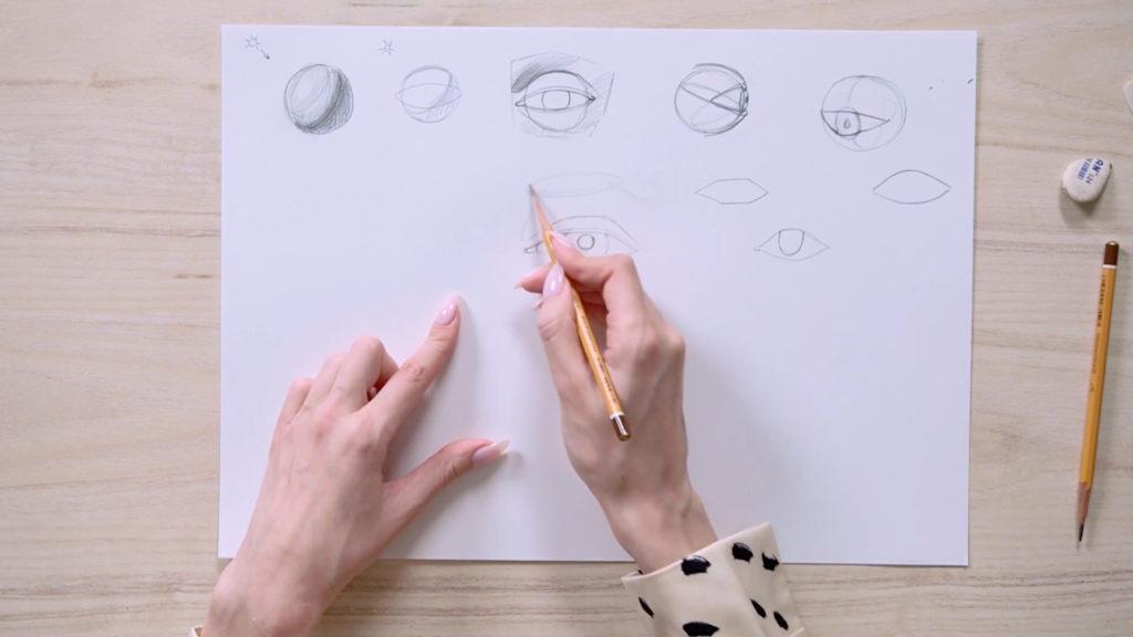 Как нарисовать глаза карандашом поэтапно - этап 8 - фото