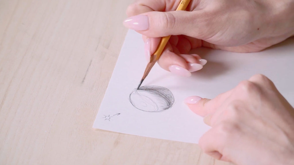 Как нарисовать глаза карандашом поэтапно - этап 1 - фото