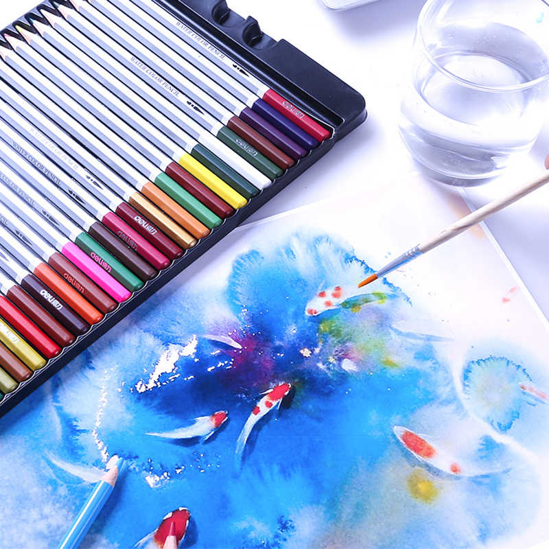 Какие карандаши лучше для рисования - акварельные карандаши - фото