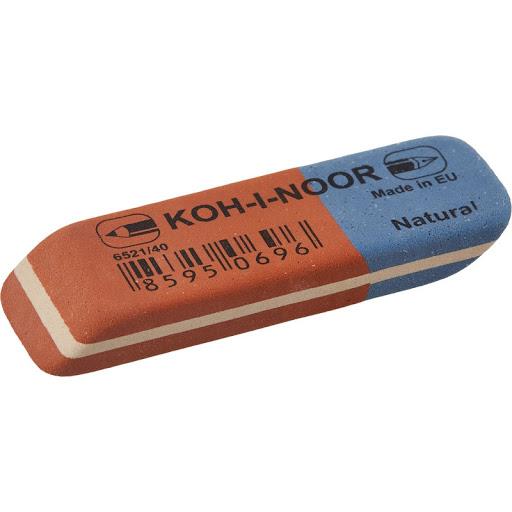 Какой ластик лучше стирает карандаш - каучуковый ластик - фото