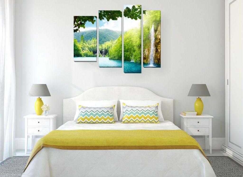 Картины с водой в доме - фото