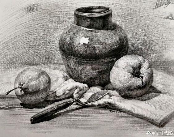 Рисунки соусом для начинающих - фото