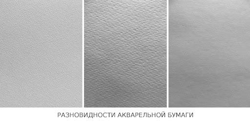 Типы бумаги для рисования - акварельная бумага - фото