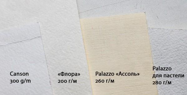 Виды бумаги для художников - фото
