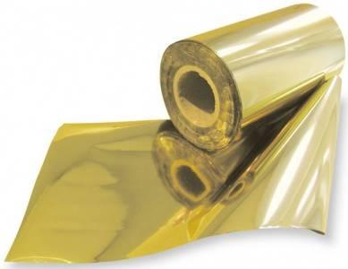 Золотая поталь как наносить - рулонная поталь - фото