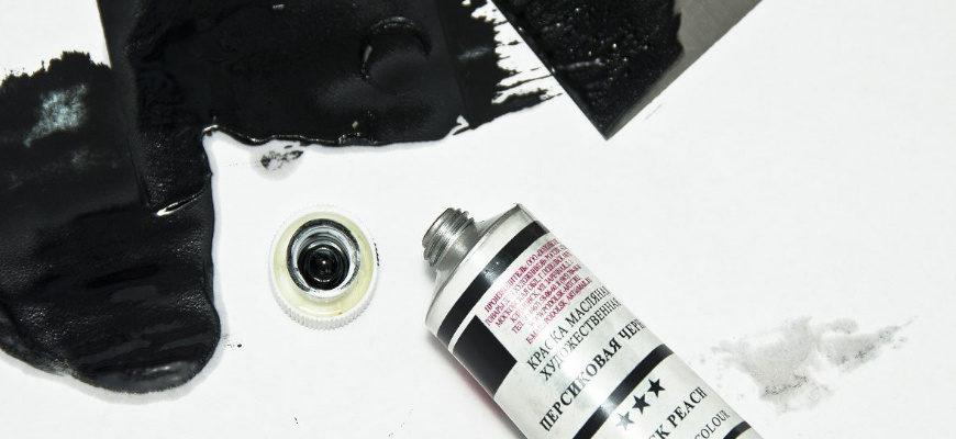 Черный цвет в живописи - фото