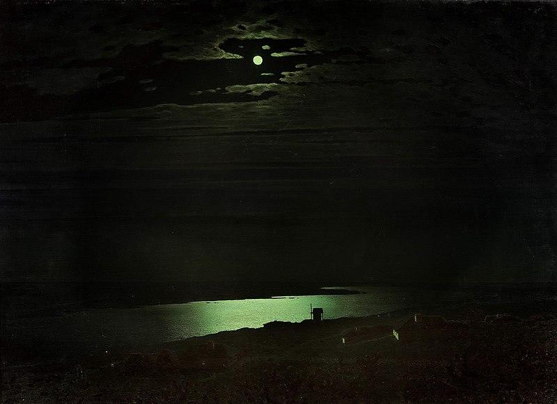 Черный цвет в живописи - картина Архипа Куинджи - фото