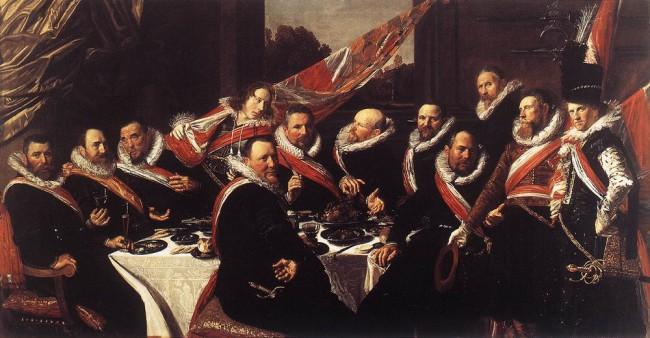 Черный цвет в живописи - картина Франса Халса - фото
