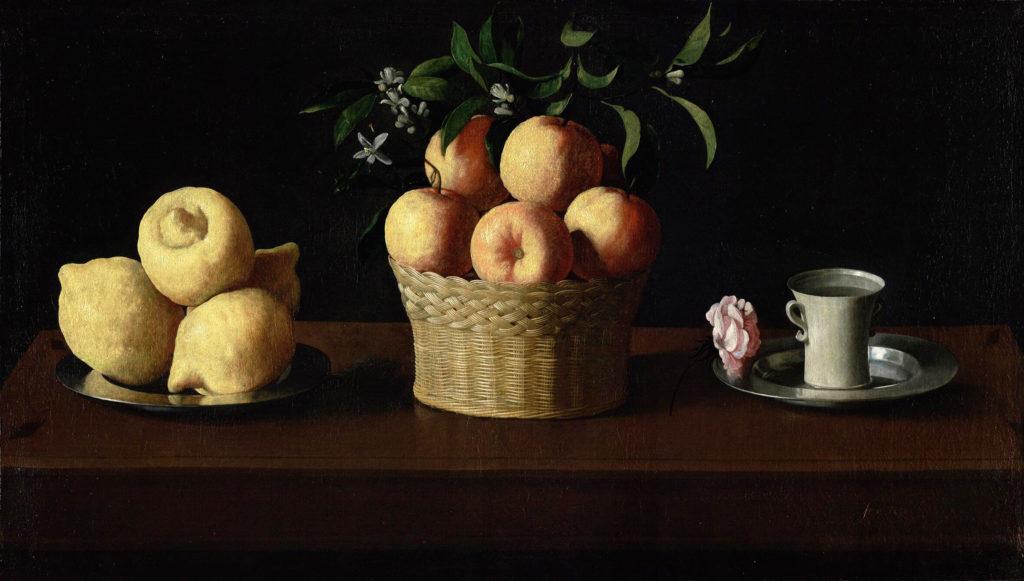 Черный цвет в живописи - картина Франсиско де Сурбаран - фото