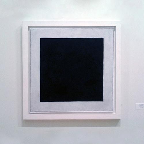 Черный цвет в живописи - картина Каземира Малевича - фото