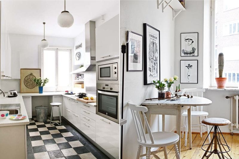 Где лучше повесить картину на кухне - фото