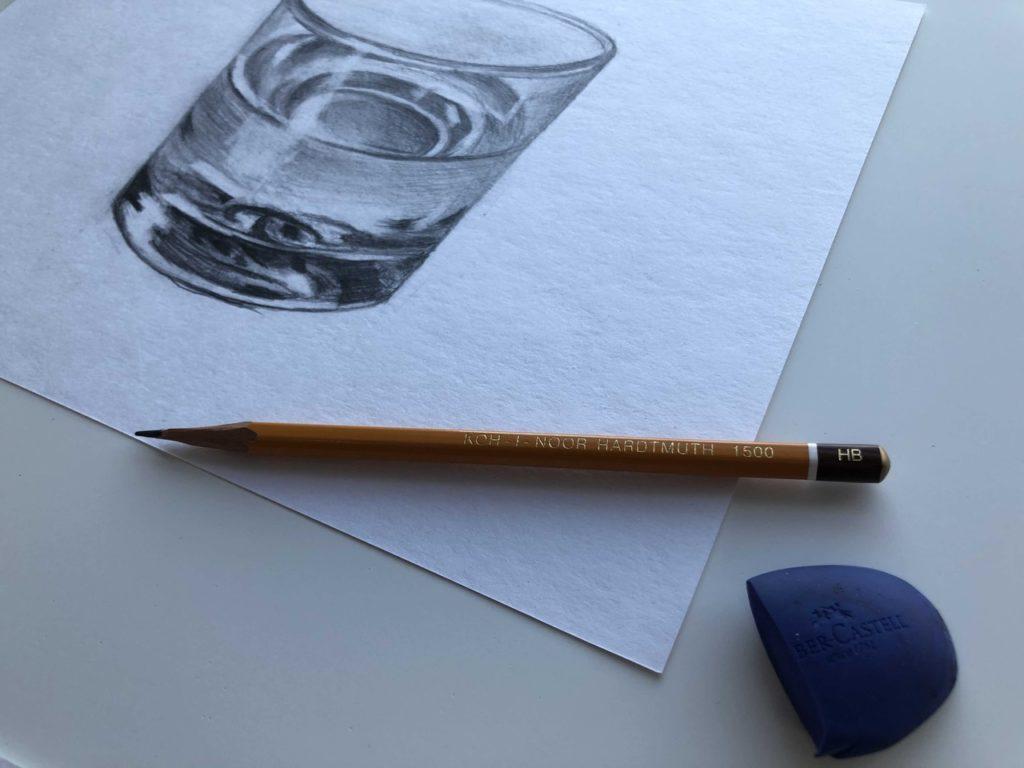 Как научиться рисовать карандашом - ластик - фото