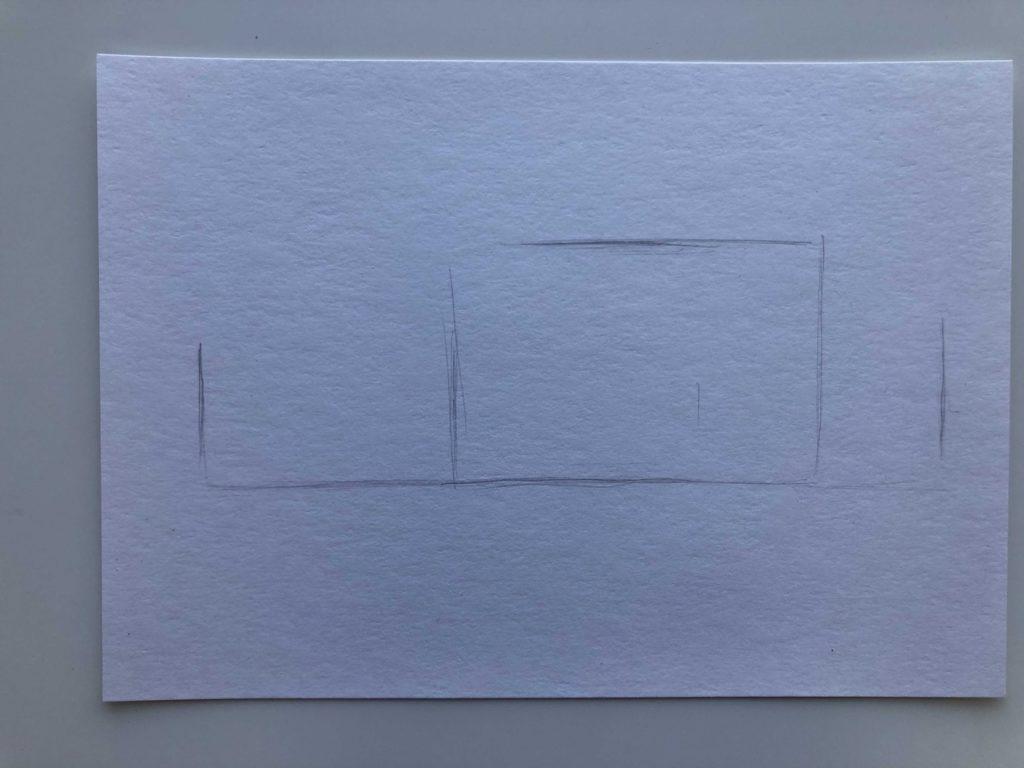 Как научиться рисовать карандашом - машина 1 этап - фото