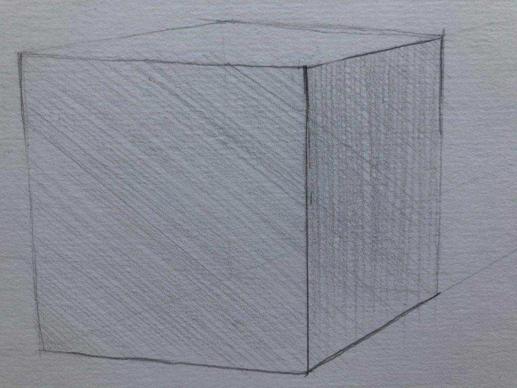 Как научиться рисовать карандашом - штриховка - фото