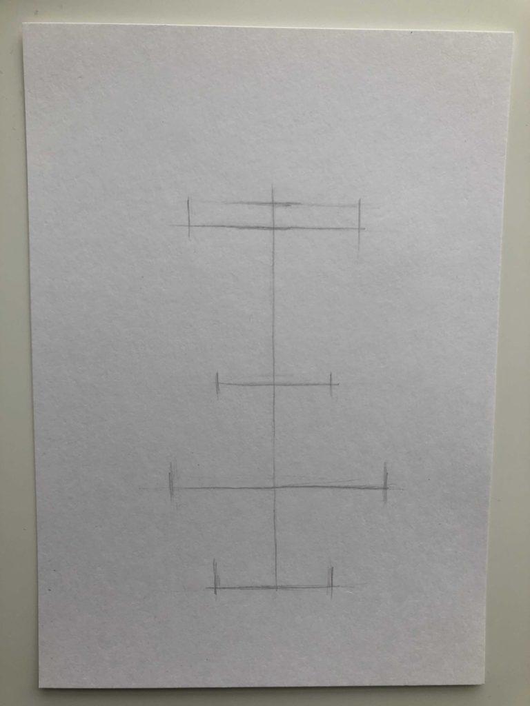 Как научиться рисовать карандашом - ваза 1 этап - фото