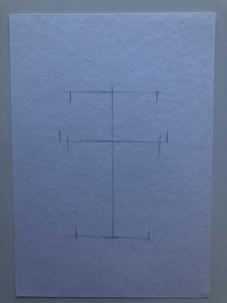 Как поэтапно нарисовать карандашом кофейный стакан 1 этап - фото