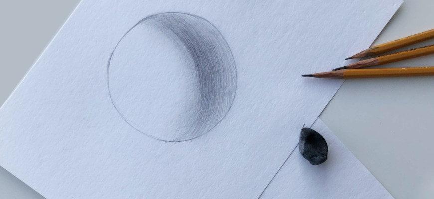 Как правильно штриховать рисунок - фото