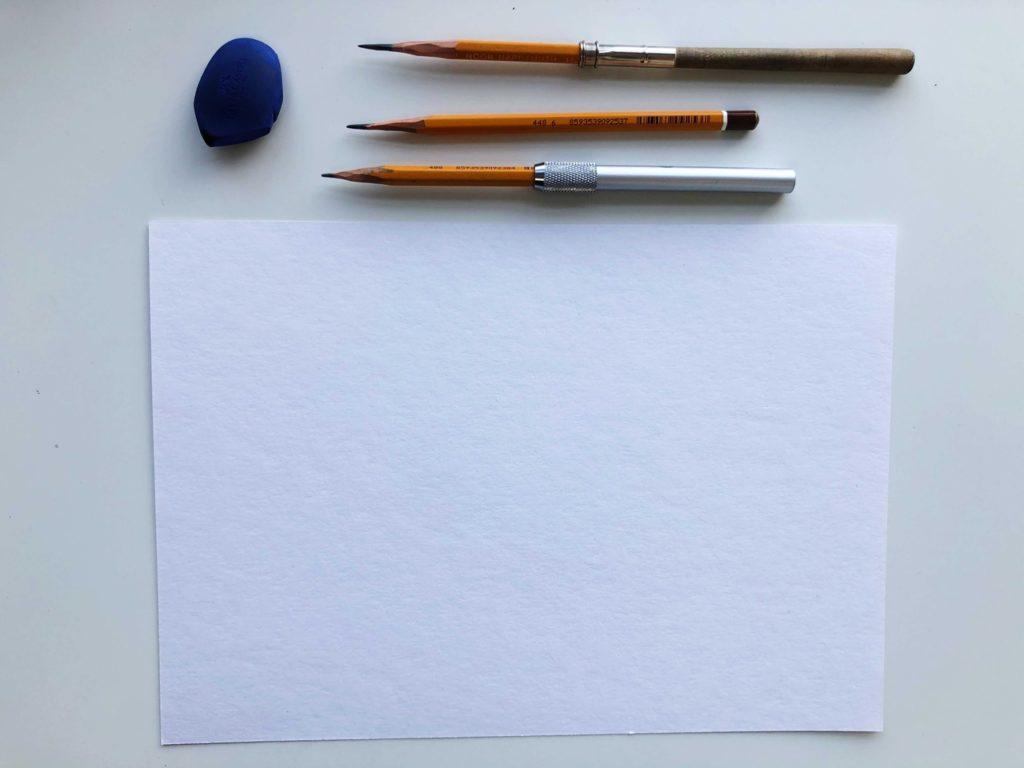 Как правильно штриховать рисунок - инструменты - фото