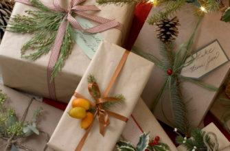 Как упаковать картину в подарочную бумагу - фото