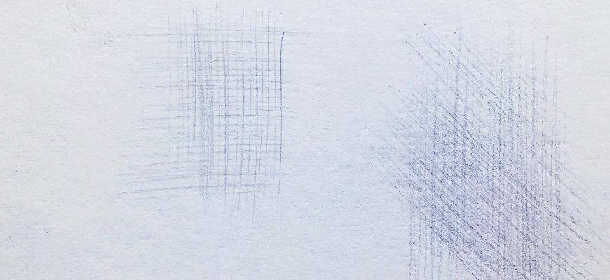 Какие бывают штриховки в рисовании - фото