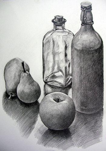 Какие бывают штриховки в рисовании - рисунок карандашом - фото